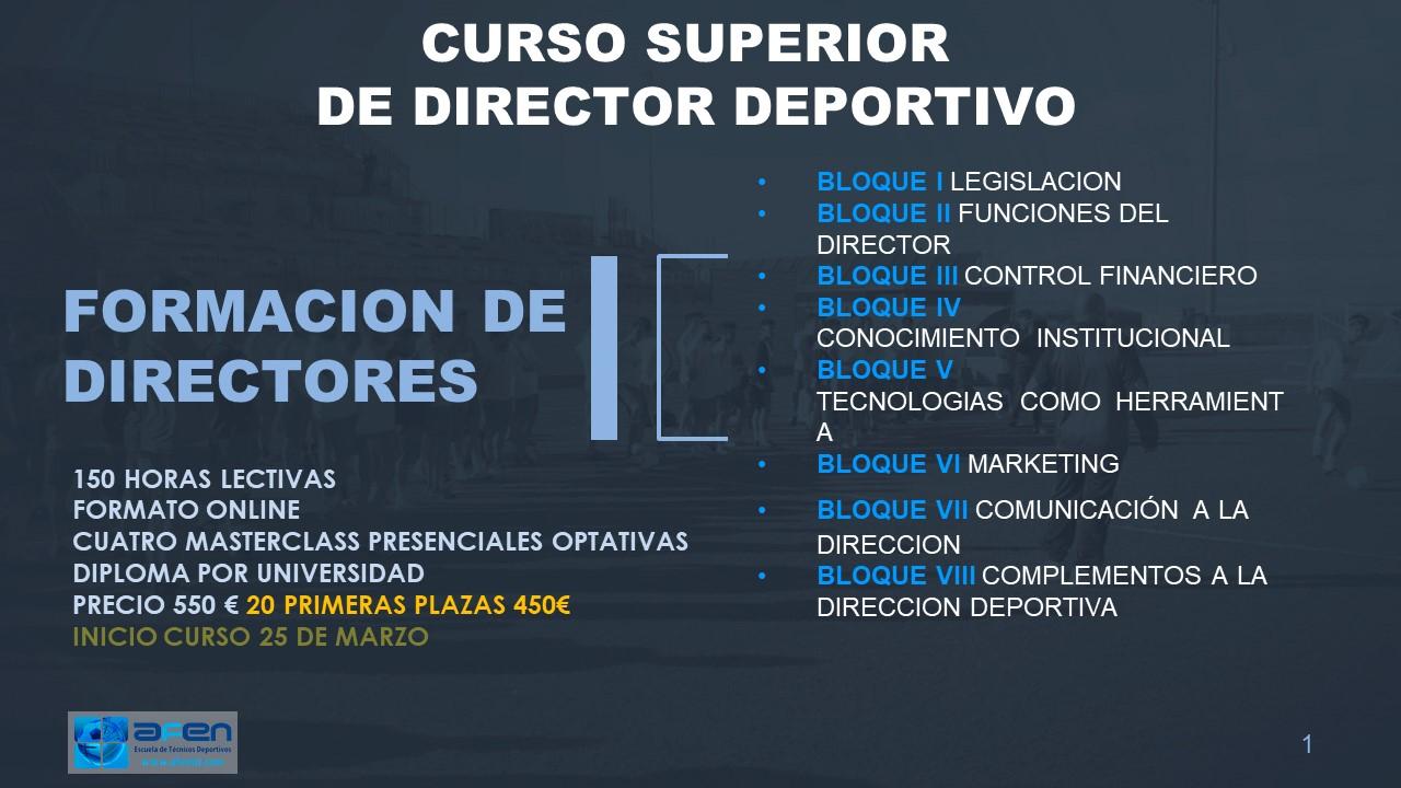 Cursos de entrenador de futbol online