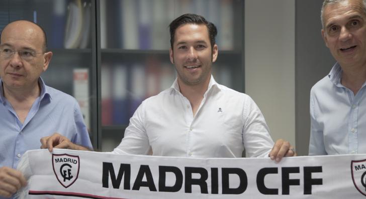 Oscar Fernandez, entrenador de futbol Madrid CFF